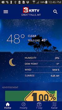 KRTV STORMTracker Weather App APK screenshot 1