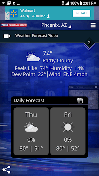 FOX 10 Weather APK screenshot 1