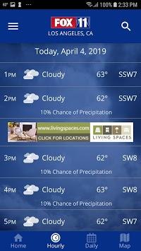 FOX 11: LA KTTV Weather APK screenshot 1