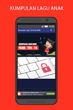 100+ Kumpulan Lagu Anak Terlengkap 2018 APK screenshot 1