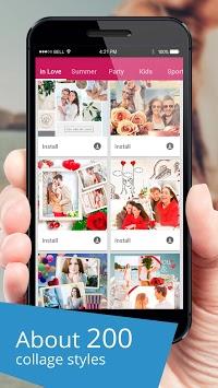Collage+ picmix, slideshow with music, album maker APK screenshot 1