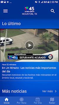Univision 45 Houston APK screenshot 1