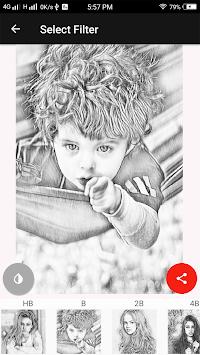 Sketch Photo  Maker APK screenshot 1