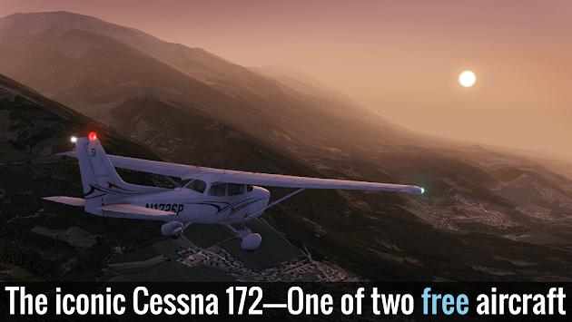 X-Plane 10 Flight Simulator APK screenshot 1