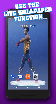 Dances & Emotes from Battle Royale APK screenshot 1