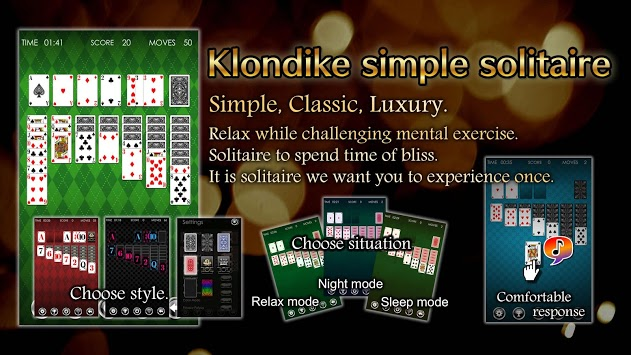 Solitaire Klondike HD APK screenshot 1
