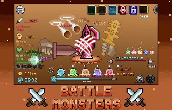 Idle Skills - RPG Adventure Game APK screenshot 1