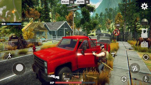 Royale Battle Survivor APK screenshot 1