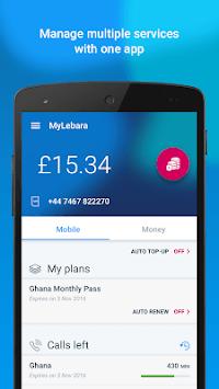 MyLebara Top-up APK screenshot 1