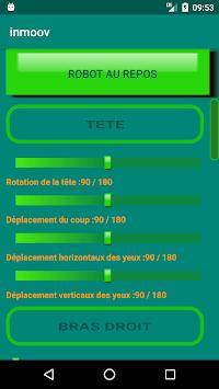 INMOOV ROBOT V2 APK screenshot 1