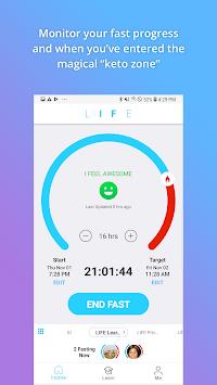 LIFE Fasting Tracker APK screenshot 1