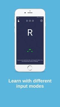 Morse code - learn and play APK screenshot 1