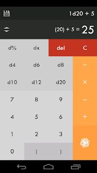 d20 Calculator APK screenshot 1