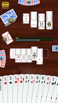 Canasta - classic card game APK screenshot 1