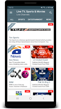 PTV Sports Live: Watch PTV Sports Live Streaming APK screenshot 1