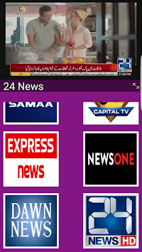 Live Cricket TV HD, PTV Sports, live express news APK screenshot 1