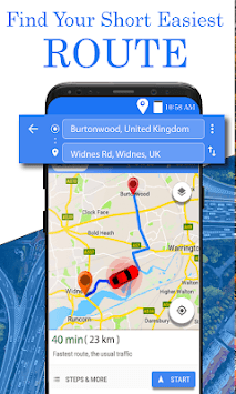Live Street Map Satellite View Driving Directions APK screenshot 1