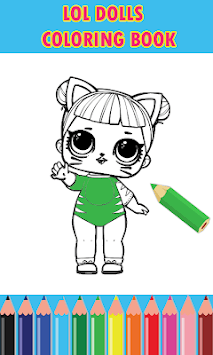 Dolls Surprise Coloring Pages Lol APK screenshot 1