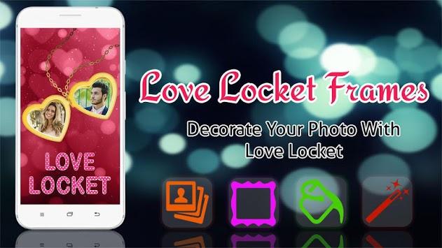 Love Photo Frames - Love Locket Photo Editor APK screenshot 1