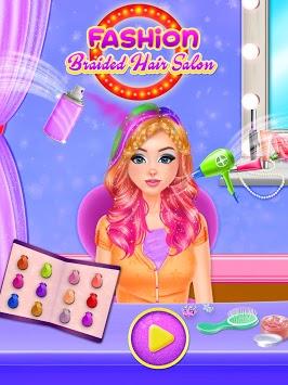Fashion Braided Hair Salon - Hairdo Parlour APK screenshot 1