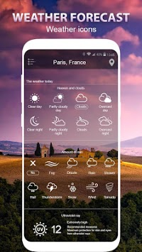 Weather forecast APK screenshot 1