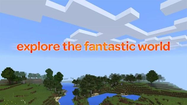 Lucky in craft: Building adventure block APK screenshot 1