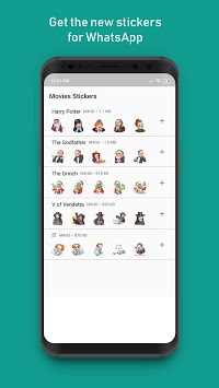 Movie Stickers APK screenshot 1