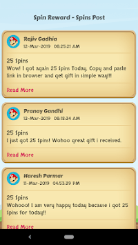 Spins Rewards - Updated Posts APK screenshot 1