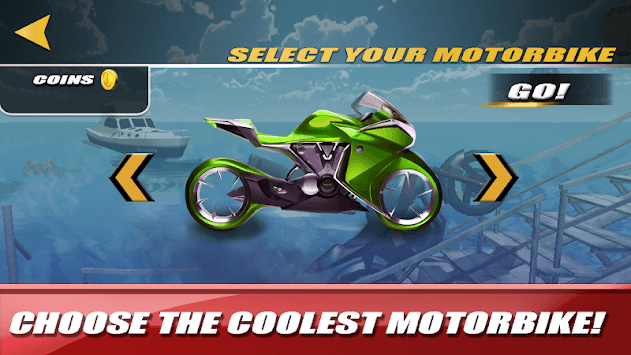 Motorbike Stunts - Extreme Ramps APK screenshot 1