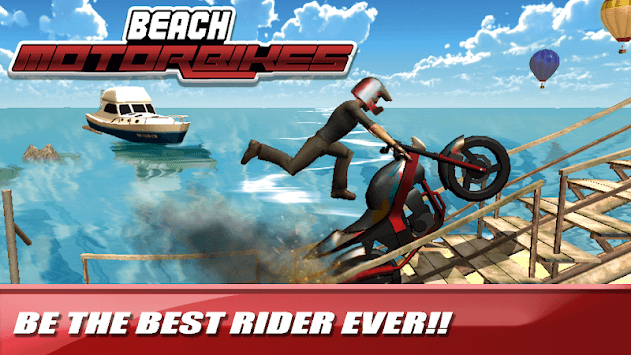 Motorbike Stunts - Extreme Ramps APK screenshot 1