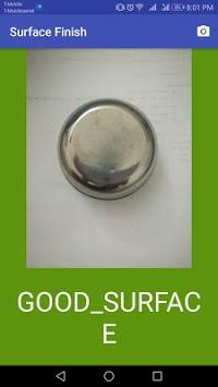 Surface Finish Inspection APK screenshot 1