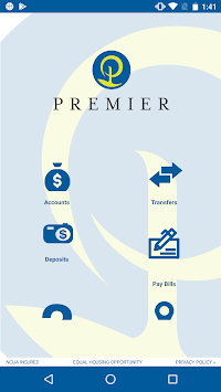 Premier Credit Union APK screenshot 1