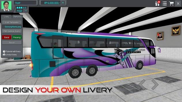Bus Simulator Indonesia APK screenshot 1