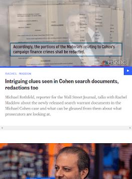 MSNBC Live News App APK screenshot 1