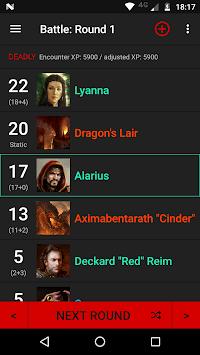 Initiative Tracker for D&D APK screenshot 1