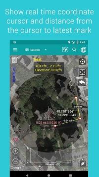 Measure Map APK screenshot 1