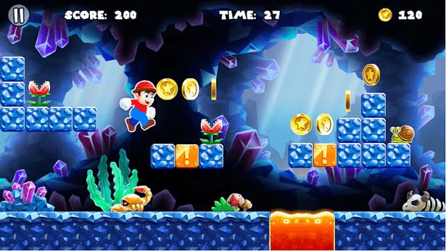 Super Golden Boy Adventure APK screenshot 1