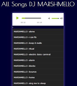 All Songs DJ MARSHMELLO APK screenshot 1