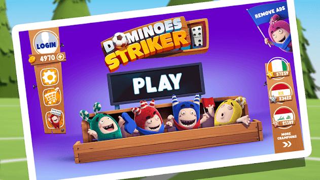 Dominoes Oddbods Striker APK screenshot 1