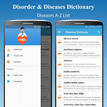 Diseases Treatments Dictionary (Offline) APK screenshot 1