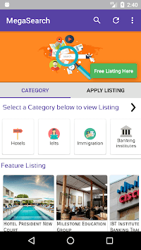 Mega Search APK screenshot 1