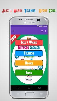 All Network Packages Pakistan 2018 APK screenshot 1
