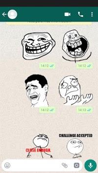 MEME WhatsApp Stickers DEPI MegaPack APK screenshot 1