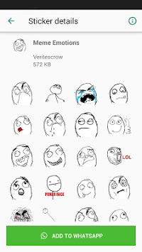 MEME WhatsApp Stickers DEPI MegaPack APK screenshot 1