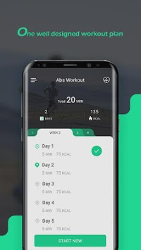 Muscle & Fitness in 28 Days APK screenshot 1