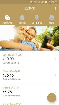Drummond Community Bank Mobile APK screenshot 1