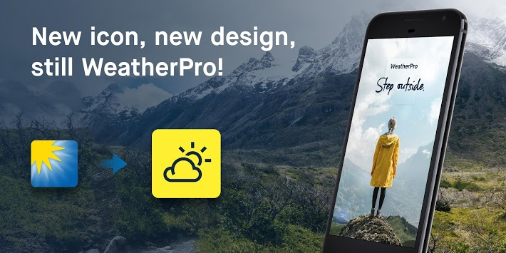 WeatherPro: Forecast, Radar & Widget APK screenshot 1