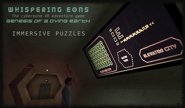 Whispering Eons #0 (VR Cardboard adventure game) APK screenshot 1