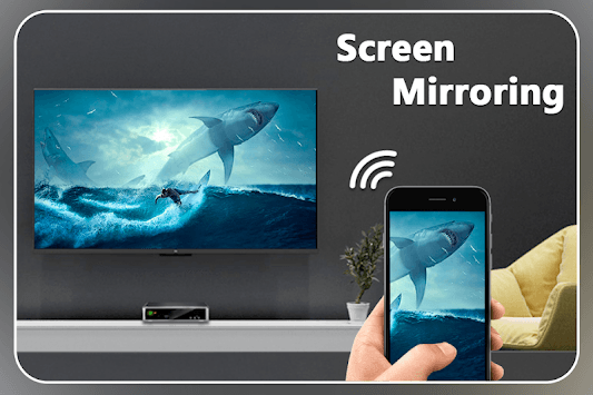 Screen Mirroring with TV : Mobile Screen to TV APK screenshot 1