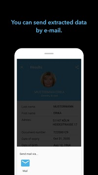 BlinkID - ID card scanner with OCR APK screenshot 1